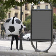 Foto de Stock  : Soccer ball disguise
