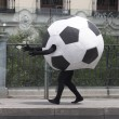 Soccer ball disguise — Stockfoto #23213060