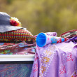 Stock Photo: Hippie objects