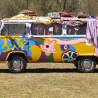 Stock Photo: Hippie van