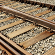 Railways components and assembly system - Stock Photo