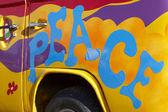 Frieden-graffiti — Stockfoto