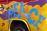 Pokoju graffiti — Zdjęcie stockowe