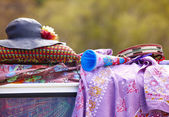 Hippie objects — Stock Photo