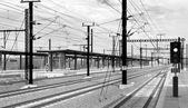 Bahnhof — Stockfoto