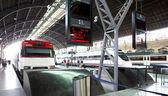 火车站出口及来港定居人士的面积 — 图库照片