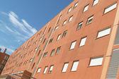 Facade of a residential building — Stock Photo