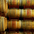 Wine barrels in aging process — Stock Photo #26371219