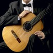 Stock Photo: Classical Guitarist