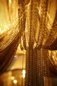 Abstract chain curtains — Stock Photo