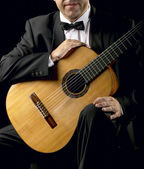 Classical Guitarist — Stock Photo