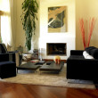 Home Living Room — Foto de Stock