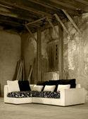 Big sofa — Stock Photo