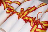 Diplomas — Fotografia Stock