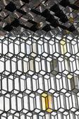 Iceland. Reykjavik. Harpa Concert Hall. Facade detail. — 图库照片