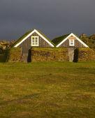 Islanda. penisola di snaefellnes. case islandesi. — Foto Stock