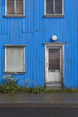 Iceland. Traditional metallic islandic facade. — Stock Photo