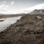 Herdubreid Mountain in Iceland — Zdjęcie stockowe