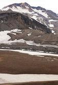 Mountains of Askja zone in Iceland — Stock Photo
