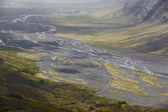 Skalafelllsjokull valley in Iceland — Stock Photo