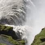 Iceland. South area. Golden Circle. Gullfoss waterfall. — Stock Photo