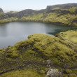 Iceland. South area. Lakagigar. Tjarnargigur. Volcanic crater wi — Stock Photo #36988611