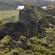 Iceland. South area. Lakagigar. Volcanic landscape. — Stock Photo #36988677