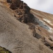Iceland. South area. Fjallabak. Volcanic landscape with rhyolite — Stock Photo #36988975