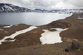 Iceland. Askja and Viti craters. Highland area. — Stock Photo