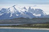 Chile. Patagonian landscape. Torres del Paine. — Stock Photo