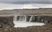 Iceland. Selfoss waterfall. Jokulsargljufur National Park. — Stock Photo
