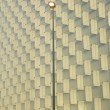 Modern building facade with stret lamp. — Stock Photo