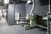 Sala kinowa projektor z wyposażeniem — Zdjęcie stockowe