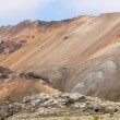 Iceland. South area. Fjallabak. Volcanic landscape with rhyolite — Stock Photo