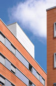 Modern building facade with ceramic coating — Stock Photo