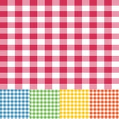 Gingham seamless pattern — Stock Vector