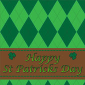 Happy Saint Patricks day — Vetor de Stock