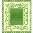 Saint Patricks day card — Stock vektor