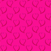 Valentines day seamless pattern — Vector de stock