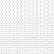 Honeycomb Outline — Stockvectorbeeld