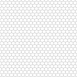 Honeycomb Outline - Stock Vector