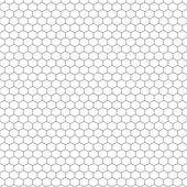 Honeycomb Outline — Stock Vector