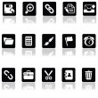 Interface icons — Stockvektor