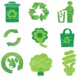 Stock Vector: Eco & Recycle icons