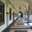Arched walkway - Stock Photo