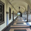Stock Photo: Arched walkway