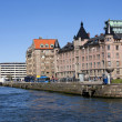 Stock Photo: Gothenburg harbour wall