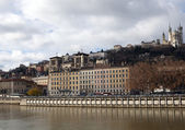Lyon in France — Stockfoto