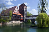 Nürnberg-altstadt — Stockfoto