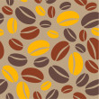 Coffee beans — Vector de stock